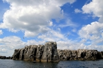 The Pinnacles, Staple Island, England by Dave Banks
