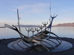 Longboat Sculpture, Reykjavik - Dave Banks Photography