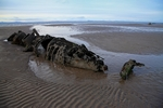 Midget Submarine Wrecks in Aberlady Bay, Lothian by Dave Banks
