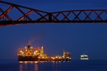 Hound Point Oil Terminal, Lothian by Dave Banks