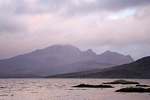 The Cuillins from Tarskavaig, Skye by Dave Banks