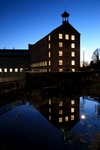 Stanley Mill at dusk, Tayside by Dave Banks