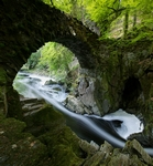 Bridge over River Braan, the Hermitage, Tayside by Dave Banks